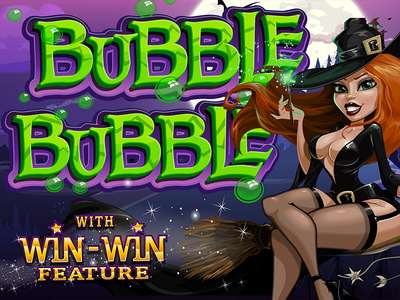 Bubble Bubble Online Slot Machine Game Logo