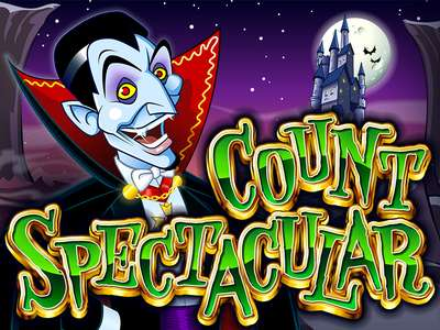 Logo of Count Spectacular Online Slot Machine Game