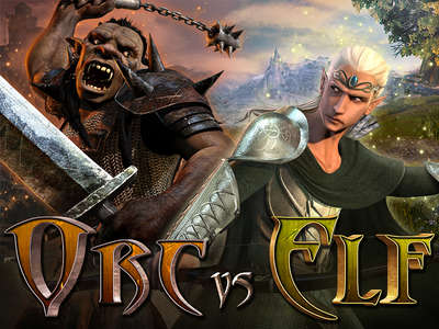 Orc Vs Elf - 3D (241MB)