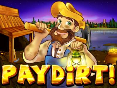 Logo of Paydirt Online Slot Machine Game